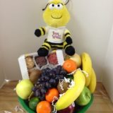 Bee Well Fresh Fruit Basket