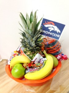 bronco  gift basket