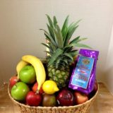 Fresh Fruit Coffee gift Basket