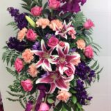 Pastel Standing Funeral Spray