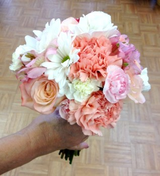 "<img src=""image.gif"" alt=""Bridal Bouquet for Rush Wedding"" />"