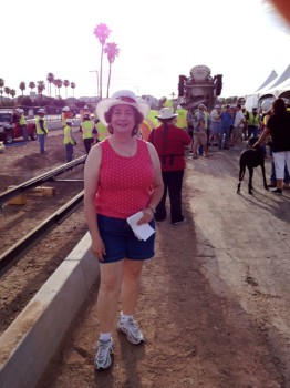 "<img src=""image.gif"" alt=""Tina at the Light Rail Party"" />"