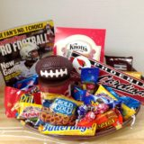Favorite team gift basket
