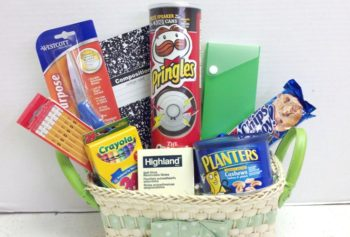 Older back to school basket