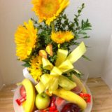 fruit and sunflowers