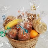 Large fruit muffins and cookies