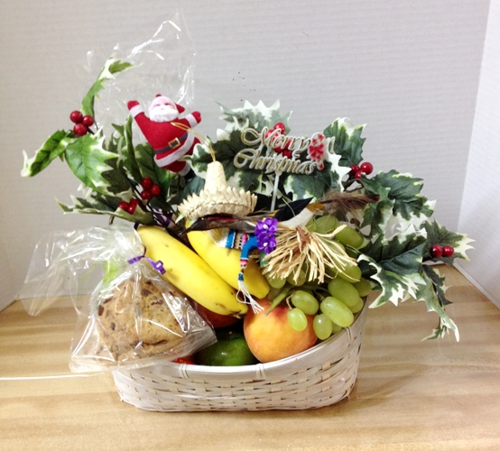 Fruit Basket Holiday Basket Christmas Basket