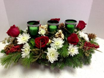 "<img src=""image.gif"" alt=""This is a 3 Candle with Green Centerpeice"" />"
