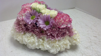 "<img src=""image.gif"" alt=""This is a Floral Birthday Cake"" />"