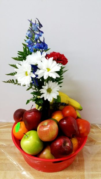 Organic Fruit and flowers