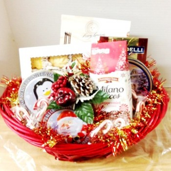Christmas Cookies Gift Basket