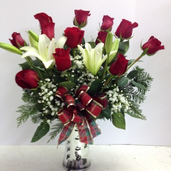 Awesome Roses and Lilies