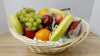 Yummy Fresh Fruit Basket