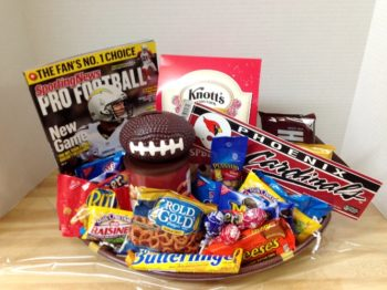 Football Gift Basket
