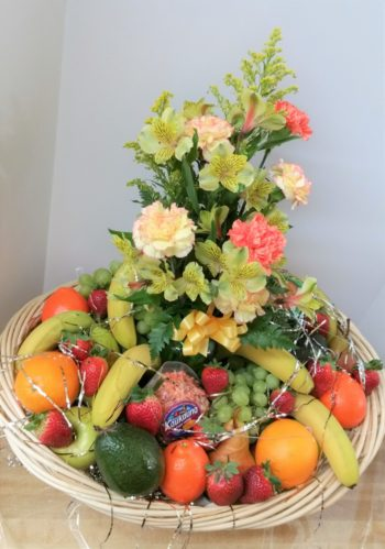 Lotsa Fruit and Flowers