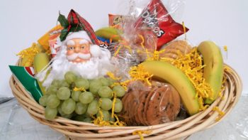Christmas Grab and Go Gift Basket