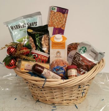 Coffee and Nuts Basket