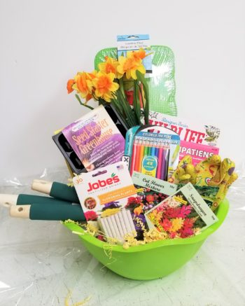 Gift Basket And Flower Ideas, What To Put In A Gardeners Gift Basket