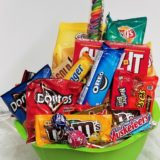 Many Snacks Gift Basket
